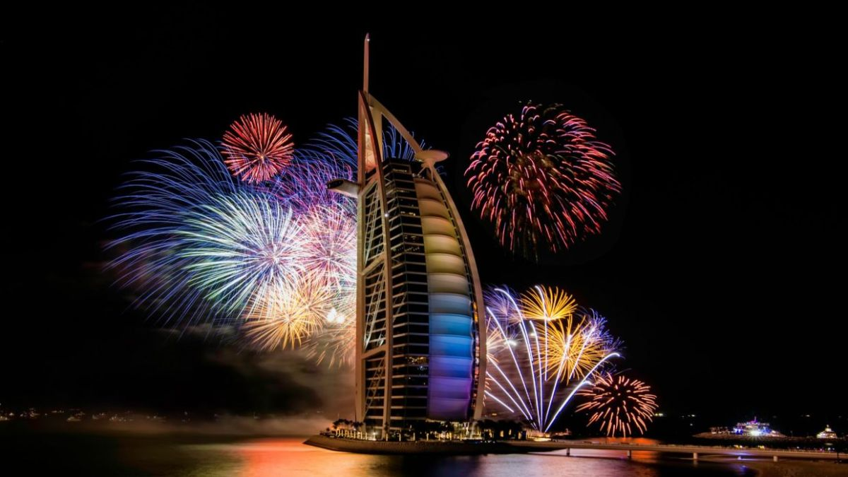 Burj Al Arab - Chinese new year